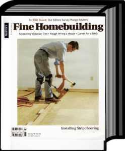 installing strip flooring