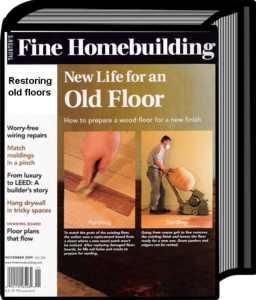 restoring wood flooring